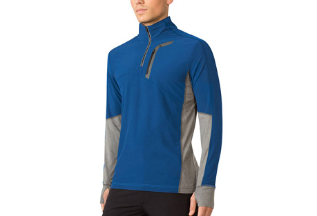 mpg contra run pullover - men's- Save 52% Off - MPG Men's Size Chart  Contrast stretch panels add a sporty and modern edge to this mid-layer design. The stretchy, wind-resistant shell and 360-degree reflectivity make cycling and running a breeze. Polygiene technology creates an odor-resistant fabric that stays fresh, wear after wear.  Features:  - Moisture wicking/quick dry  - Wind resistant front and top sleeve  - 360-degree reflectivity  - Chest pocket secured storage  - Soft stretch panels  - Thumbhole cuffs  - Main Fabric: Flex Light Woven - 90% Polyester 10% Spandex  - Trim: Soft Hand Feel Jersey - 88% Polyester 12% Spandex