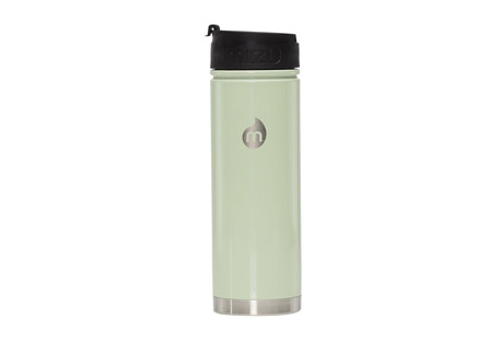 mizu v7 insulated stainless steel coffee mug - 22oz- Save 45% Off - When a full working days' worth of steaming hot caffeine or ice-cold water is what you need, the V7 is your answer. Just like the V5, it fits neatly into your car cup holder or the side pocket of your backpack. The coffee lid is practical but not fully leak proof.  Features:  - Insulated  - Wide mouth  - Fits in most cup holders  - 22oz
