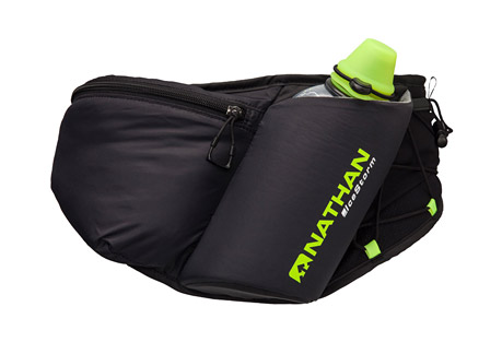 nathan icestorm insulated waist pak- Save 46% Off - Keep your water close at hand with this lightweight, bounce-free, and chafe-free waist pak. The IceCutter Cap with Blast Valve and hand warmer pocket behind the bottle prevent fluids from freezing, and the oversized zipper pulls work well with winter running gloves. Extended side panels hug the body comfortably for a perfect fit, while the large zippered pocket is roomy enough for your smartphone and other running essentials. And if you need to shed a layer, the external shock cord system will keep it secure.   Features:  - 18 oz / 535 mL double-wall insulated and hi-viz reflective SpeedDraw Flask with   - IceCutter(TM) Cap with Blast Valve(TM)  - Hand warmer pocket behind bottle prevents water from freezing  - Angled, insulated bottle holder for one-handed access and a bounce-free ride  - Large zippered pocket stores smartphone, plus gels, keys, ID, and other running essentials  - One Size: 26-44 in / 66-112 cm  - Only available to ship within the U.S