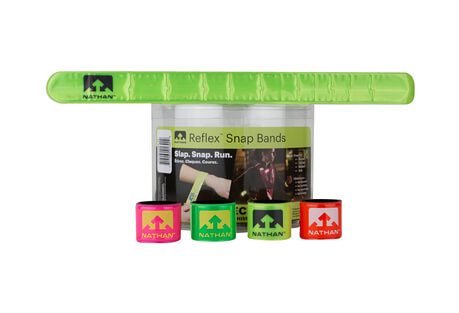 Nathan Reflex Reflective Snap Bands - 20 Pack