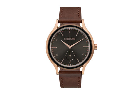 Nixon Sala Leather Watch - Women's