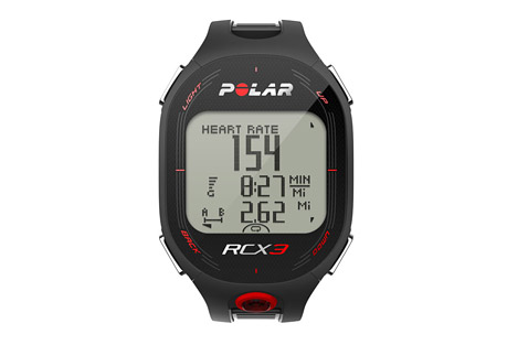 polar rcx3 gps hr watch- Save 41% Off - For runners, cyclists and fitness enthusiasts who want guidance to reach their goals.  Features:  - GPS-compatible (GPS sensor not included)  - Training Benefit gives you instant feedback after your session  - Smart Coaching features include: Fitness testing, training load monitoring, running index to show performance, motivating feedback, endurance programs, Smart Calories, and ZoneOptimizer for intensity.  - Helps you train at the right intensity with personal sport zones  - Improves performance with endurance training programs, downloadable for free from polarpersonaltrainer.com with the Polar DataLink  - Compatible with Polar running, cycling and GPS sensors  - Backlight  - Date and weekday indicator  - Display text in English, German, French,   - Spanish, Portuguese, Italian, Dutch, Danish, Finnish, Norwegian and Swedish  - Dual time zone  - Button lock  - Low battery indicator  - Time of day (12/24h) with alarm and snooze  - User replaceable battery  - Water resistant - 30m  - In the box: Polar RCX3 training computer, Polar H3 heart rate sensor, and RCX3 Getting Started Guide.