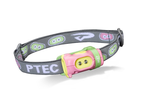princeton tec bot headlamp- Save 31% Off - Small, simple, and ready for action, meet Bot. The smallest member of The Family is designed with the same ergonomic features of the other members, but with a fun and bright PTec twist. Two Ultrabright LEDs housed in a colorful body will certainly be the center of attention, but look beyond that. The Bot is built with the same ruggedness and reliability as the rest of the headlamps in The Family. Durable plastics, a single arm bracket, and large push button make the Bot sturdy and simple to operate. In addition, the battery compartment on the Bot screws shut to ensure that the batteries will not be accidentally accessed by little fingers. PTec reliability, PTec personality - the Bot rounds out The Family in a big way.  Features:  - Power: 15 Lumens  - Lamp: 2 Ultrabright LEDs  - Burn Time: 9 Hours  - Batteries: 2 AAA Alkaline or Lithium  - Weight: 64 Grams