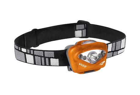 princeton tec vizz headlamp- Save 36% Off - The upgraded 165 lumen Vizz is a feature-loaded headlamp with three distinct beam profiles easily accessed via a simple press, hold, or double press of the button. One Maxbright LED creates a powerful spot beam for long-throw illumination, a pair of white Ultrabright LEDs deliver a dimmable flood beam, and two red Ultrabright LEDs handle close-range lighting while preserving night adjusted vision. When not in use the Vizz can be locked (triple press) to prevent accidental turn on, and the translucent switch acts as a battery level indicator.  As with all of PTEC Professional Series headlamps, the Vizz is waterproof (IPX7) and is equipped with regulated circuitry making the Vizz lithium battery compatible. With practical features, the VIZZ is one headlamp to rule them all.  Features:  - Power: 165 Lumens  - Lamp: Maxbright LED, Ultrabright White LED, Ultrabright Red LED  - Burn Time: 150 Hours  - Batteries: 3 AAA Alkaline or Lithium  - Weight: 92 Grams  - Waterproof Level 2  - Heatsink Technology  - Focused Narrow Beams  - Multiple Modes