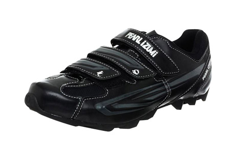 pearl izumi all-road ii clipless mountain bike shoes - men's- Save 55% Off - Featuring Lightweight stiffness, durability, and SPD compatability, the Men's All-Road II from Pearl Izumi are the perfect purchase for spin class or road cycling.   Features:  - 1:1 Anatomic Closure: follows the natural anatomic shape of the foot to eliminate hot spots and remove pressure from your instep  - SELECT 1:1 Power Plate: SELECT Grade Nylon and Composite Fiber plate for lightweight stiffness and durability; concave shaping for enhanced plate stiffness and anatomic support. Low-profile bottom for an indoor/outdoor look and feel.  - SELECT Insole: provides excellent Longitudinal and Transverse Arch Support  - SPD Compatible  - Weight: 370g size 43  - Last Chance:  Discontinued Style