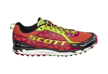 scott trail rocket shoes - womens- Save 23% Off - Lightweight and versatile racing trail shoe designed for maximum performance for racing and fast trainings. The minimalistic design in combination with the eRide(TM) Technology promotes an efficient, natural and fast running style.  Features:  - Category: Neutral  - Cushion Level: Low  - Weight: 8.1 oz (Women's size 7)  - Drop: 5mm (22.5mm / 17.5 mm)  - Technologies: eRide AeroFoam  - Upper: Mesh/Synthetic Overlays   - Lower: EVA/rubber