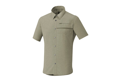 Shimano Transit SS Check Button Up Shirt - Men's