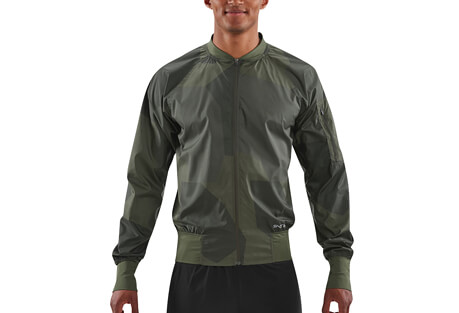 SKINS Activewear Orsa Bomber Run Jacket - Men's