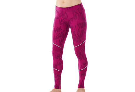 smartwool phd printed tight - women's- Save 38% Off - Smartwool Size Chart  You don't head inside when the mercury drops, so you need gear to keep you warm and comfortable when you're out giving it your all. No-stink Merino next to skin works to regulate temperature and manage moisture, while a nylon facing works hard to keep the weather at bay.  Features:  - PhD(R): Built for Performance in the Highest Degree  - 360deg Reflectivity: Adds visibility in low light conditions  - Semi-form fit - Mid rise  - Knitting method concentrates Merino against skin and nylon/elastane against the elements  - Drawcord for customizable waist fit  - Secure zip pocket on back with semi-auto locking zipper pull and drop-in pocket on left side for additional storage  - Size M inseam: 27.5IN (70 cm)  - Knit in Vietnam: 44% Nylon, 36% Merino Wool, 20% Elastane  - Last Chance: Discontinued Style