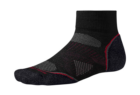 smartwool phd cycle light mini socks- Save 35% Off - Size Chart  These Mini Socks feature the 4 Degree(TM) elite fit system for superb stretch and recovery along with a patented technology to help make them last a year's worth of centuries. The lightweight and streamlined design makes them ideal for speed and performance activities. Despite their size, they still maintain great warmth and impact protection.  Features:  - PhD(R): Built for Performance in the Highest Degree  - 4 Degree Elite Fit System: Uses two elastics for greater stretch and recovery to keep the sock in place  - ReliaWool(TM): Patented ReliaWool(TM) technology in high impact areas provides superior durability  - Light Cushion: Light cushioned sole for added warmth with minimal volume  - Strategically placed mesh ventilation zones provide ventilation for temperature and moisture management  - Virtually seamless toe  - 3.75