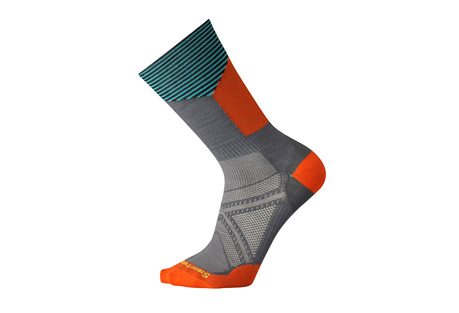 smartwool phd cycle ultra light pattern crew socks- Save 34% Off - Size Chart  Sometimes you just want a tall bike sock. A sock that fits well in your shoe, doesn't rub and helps keep your feet dry and comfortable on even the longest rides. The PhD(R) Cycle Ultra Light Crew checks all of those boxes plus features Indestructawool(TM) technology for ultimate durability.  Features:  - Virtually Seamless toe  - 200 needle construction provides highest knit density while maintaining ultra light weight  - 8.5