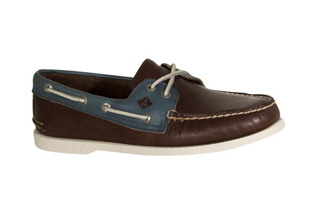 sperry authentic original 2-eye cross lace boat shoes - men's- Save 47% Off - The hand-sewn quality, durable leather materials, and superior wet/dry traction of the original, with an elasticized tongue for a secure, slip-on fit and a 360deg lacing with a cross-lace design for clean, classic boat shoe styling. This is a slip on style so lacing structure is different than typical boat shoe. It truly is The Authentic Original.  Features:  - Genuine hand-sewn leather uppers with true moccasin construction to ensure longevity of wear  - Non-Functional 360deg lacing system elasticized tongue to ensure secure fit with rustproof eyelets  - Genuine rawhide lace  - Molded Ortholite(R) heel cup enhances shock absorption for added comfort  - Razor-Cut Wave-Siping(TM) delivers ultimate wet/dry traction with non-marking rubber outsoles  - Molded Ortholite(R) heel cup