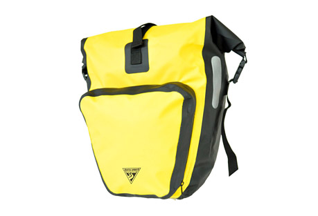 seattle sports rain freighter pannier- Save 46% Off - The big daddy of panniers. This large, high visibility pannier provides maximum storage capacity. Waterproof vinyl construction keeps your cargo safe on rainy days. Its symmetrical design lets you mount it on either side of a front or rear rack for maximum versatility.  Features:  - Vinyl body with reflective details  - RF welded seams  - Quick-access 3D 2.5L splashproof zippered pocket  - Symmetric design is compatible on both sides of front and rear racks  - Heavy-duty hooks clip quickly to bike rack  - Dimensions: 16in H x 12in W x 6in D  - Capacity: 1300ci / 21L