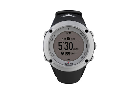 suunto ambit2 watch- Save 33% Off - Suunto Ambit2 is the GPS for explorers and athletes. All you need for outdoor sports - navigation, speed, heart rate, altitude, weather conditions and features for running, biking and swimming. Thousands of Suunto Apps available to add new functionalities to your watch. Packed in a glass fiber reinforced casing with a battery life of 16/50 hours, Ambit2 is ready for any adventure.  Features   - Time, date, alarm, dual time  - Multiple UI languages (EN, DE, ES, FI, FR, IT, NL, PT, SV)  - GPS timekeeping  - Positive / negative display switch  - User-adjustable backlight  - Versatile button lock  - Low battery indicator  - Metric and imperial units  - Power save modes  - Adjustable recording of HR and baro/alti (1 s, 10 s)  - Data transfer and charging with USB cable  - Watch settings & customization*  - Advanced post-analysis of exercise*  - Training logbook with story and image support*  - New functionalities with software upgrades* TRAINING  - GPS-based speed, pace and distance  - Real-time, average and max. heart rate   - Calories   - Heart rate limits   - Heart rate graph in real time   - Peak Training Effect & Recovery Time   - Manual & autolaps  - Chrono  - Countdown timer  - Interval timer  - GPS track analysis*  - Heart rate zones*   - EPOC & V02 max values*   MULTISPORTS   - Swapping of sport while logging and exercise  - Preconfigured multisport modes  - Sports comparison*  - Post-analysis of multisport exercise by sport*  - Interactive map and charts by sport/section of an exercise*  - ANT+(TM) and Suunto ANT support for PODs  - ANT+(TM) logoThis product is ANT+(TM) certified.  RUNNING   - Responsive running pace/speed (FusedSpeed(TM))  - Running cadence with Foot POD  - Lap comparisons by each kilometer/mile*  - Ghost Runner (Suunto App)  - Marathon End-time Estimator (Suunto App) CYCLING   - Multiple Bike POD support (Suunto ANT/ANT+(TM))  - Bike Power (W), average and maximum  - Bike Power 3 s, 10 s, 30 s  - Bike lap a