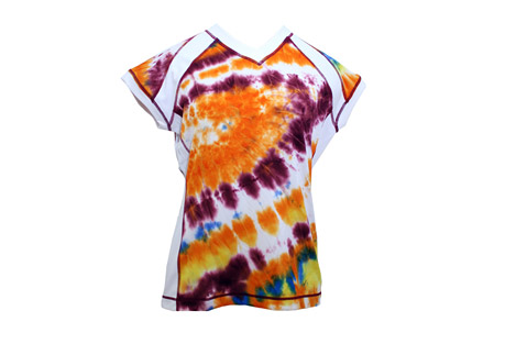 swirlgear capped sleeve shirt - womens- Save 69% Off - Swirlgear apparel is designed for the active women, the goal is to provide a functional and fashionable line of running apparel. The ideal running wear with long body to prevent rid- up and to make sure of maximum coverage.    Features:  - Stylish and functional capped sleeve cut  - Moisture wicking technical fabric   - Reflectivity on the back for safety  - Flat stitching to eliminate any friction  - Fabric: 87% poly 13% spandex