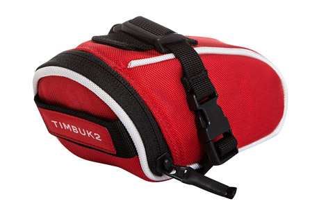 timbuk2 bicycle seat pack - medium- Save 44% Off - The updated Bike Seat Pack has new, easy-to-attach SR buckles and a vista loop for a blinky light or your favorite reflector. This pack perfectly holds hand tools and other bike upkeep necessities. A small internal fold holds your keys safe.  Features:  - Adjustable SR buckles attach to seat in multiple positions  - Vista loop for attaching blinky bike lights  - Internal key fob  - Alternate images may show different colorways, yet accurately display product features  Dimensions:  - Size: Medium  - Top Width: 2.8 in / 7 cm  - Bottom Width: 1.8 in / 4.5 cm  - Height: 2.8 in / 7 cm  - Depth: 6.7 in / 17 cm  - Weight: 0.2 lbs / 0.1 kg  - Volume: 20 cu in / 0.3 L