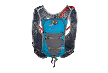 ultraspire astral pack- Save 51% Off - Finally, a vest that doesn't squish the chest while providing comfortable fit and style for beautifully fit people of all sizes and shapes. The Astral features a new soft touch binding, large quick stash with increased pack capacity without increased weight or bulk, trade marked and patented pending Max O2 Sternum, new easy in and out bladder holder, new easy durable strap keeper, and a soft micro fiber mesh body with even bigger holes enables greater circulation, cooling and breathability than ever before.  Features:  - Primary construction of soft, large holed, micro-fiber mesh fabric that makes for lower pack weight and huge cooling and breathability!  - Soft touch perimeter edging for a polished look, and a nonrestrictive feel.  - Patent-Pending Max O2 Sternum(TM): Sternum attachment system with enhanced recoil for better range of motion, quick in and out, boot hook type attachment system, adjust once and lock down to eliminate further fuss even when taking on and off.  - Small internal zippered pocket for keys, lip balm or other essentials.  - Large zippered main compartment  - Bladder hanger system: Lightweight, easy and fast method of attaching bladder inside pack. No struggling to detach or reattach bladder. Great for aid stations and lightning fast refills.  - Lightweight front pockets and quick stash pockets have more stretch and capacity without added bulk or weight.  - Sweat-proof side compression straps.  - Curve(TM) harness: Breathe easier! Designed to free the chest from the pressure of pockets, weight, bounce and excess fabric. Also provides some support when properly worn for that purpose.   - Includes a 2L bladder.  - Total volume 5.5 liters  - Dimensions:  10