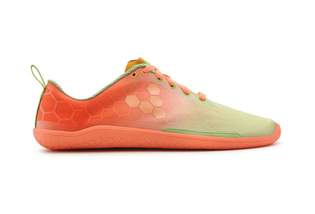 vivo evo pure shoes - women's- Save 24% Off - The Evo Pure is a lightweight on road performance running shoe that let's your feet get on with the job in hand: running as natural intended. VIVOBAREFOOT kept the iconic hexagonal identity but stripped the Evo of it's original sole and upper - it's now lighter, more breathable, comfortable and more barefoot than ever.  Features:  - Sole thickness: 3mm  - Weight: 141g  - Breathable, light weight V-Web design