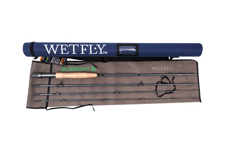 wetfly element se 5wt fly fishing rod- Save 36% Off - Wetfly Element SE fly rods are designed to offer the best in performance and price in fly fishing. This rod can easily be compared to rod x2 and x3 the price! The fast-action taper improves accuracy while allowing the angler to deliver flies with fewer false casts in challenging conditions. Pac Bay Minima guides and Channel Lock reel seats add to the durability and performance of these rods. Grade AAA cork handles on all rods. Complete with sturdy Cordura rod tube and cloth rod sock. All Wetfly rods come with an Unconditional Lifetime Warranty.   Features:  - Fast-Action Taper for Accuracy, Distance, and Quick Delivery  - 4-Piece Construction, Easy Pack  - Saltwater-Safe, Hard-Anodized, PACBAY Channel Lock Aluminum Reel Seat  - Nylon Hard Case and Cloth Rod Sock Included