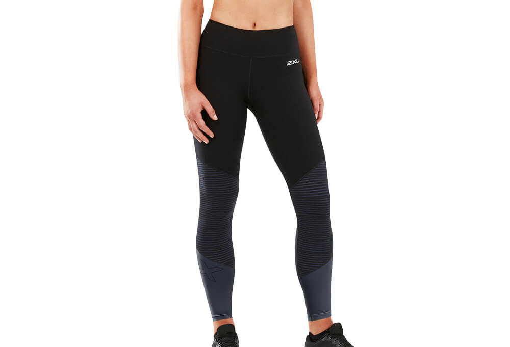 b81d10a41c ... Compression / 2XU Fitness Mid-Rise Color Block Tight - Women's.  Alternative Image View; Alternative Image View; Alternative Image View.  Product Image ...