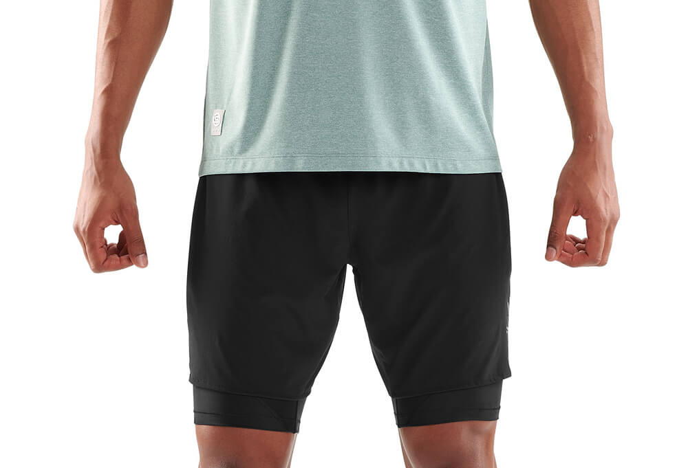 ebf9005315 SKINS DNAmic CORE Compression Superpose Half Tights - Men's | The Clymb