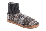 MUK LUKS Cuff Slipper Bootie - Men's