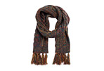 MUK LUKS Traditional Cable Scarf