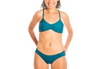 Sensi Graves Dawn Eco Friendly Strap Back Bikini Top - Women's