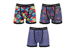 Warriors & Scholars Melody Boxer Brief 3-Pack