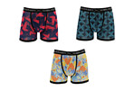 Warriors & Scholars Chloe Moisture Wicking Boxer Brief 3-Pack - Men's
