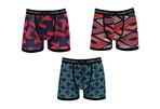 Warriors & Scholars Julia Moisture Wicking Boxer Brief 3-Pack - Men's