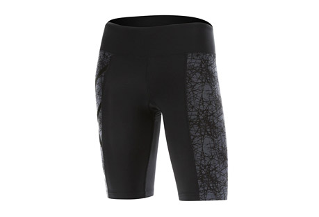 2XU Pattern Mid-Rise Compression Shorts - Women's