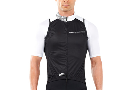 2XU Wind Defence Cycle Gilet - Men's