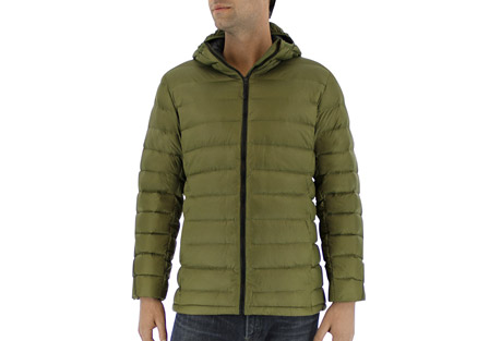 adidas Light Down Hooded Jacket - Men's