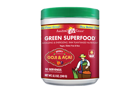 Amazing Grass Berry Green SuperFood Canister - 30 Servings