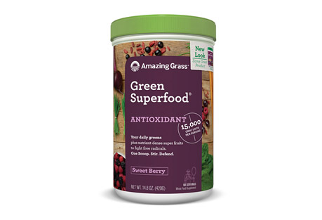 Amazing Grass Antioxidant Green Superfood Sweet Berry - 60 Servings