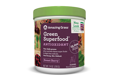 Amazing Grass Antioxidant Green Superfood Sweet Berry - 30 Servings