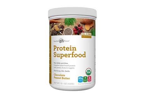 Amazing Grass Protein SuperFood Chocolate Peanut Butter - 10 servings