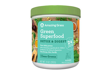 Amazing Grass Detox & Digest Clean Greens Canister - 30 Servings