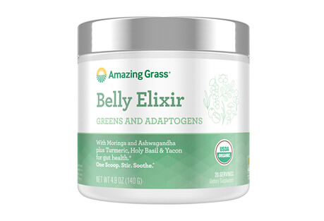Amazing Grass Belly Elixir Blend Canister - 20 Servings