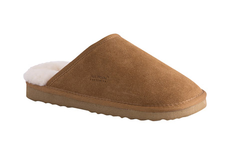 Aus Wooli Manly Slippers - Men's