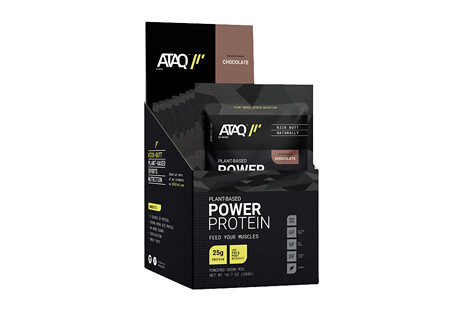 ATAQ Chocolate 25g Plant-Based Power Protein - Box of 8
