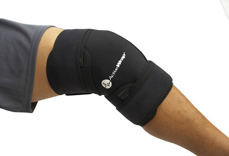 ActiveWrap Knee Ice/Heat Wrap w/4 Large Ice Packs