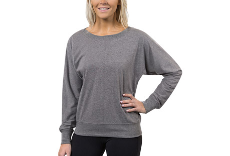 Alex + Abby Lounge Inspire Bateau Neck Pullover - Women's