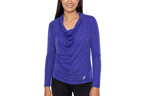 Alex + Abby Draped Neck Tee - Women's