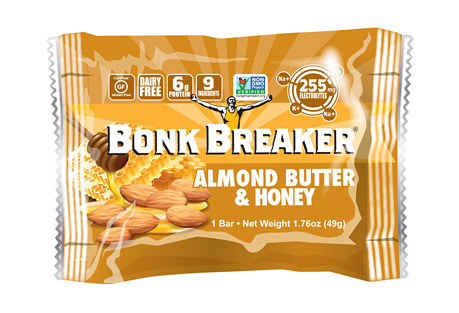 Bonk Breaker Almond Butter & Honey Energy Bar - Box of 12