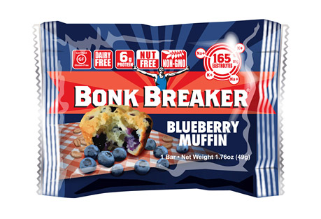 Bonk Breaker Blueberry Muffin Energy Bar - Box of 12