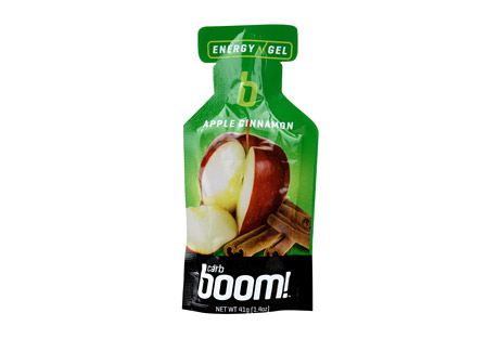 Boom! Carb Boom! Apple-Cinnamon Energy Gel - 24 Pack