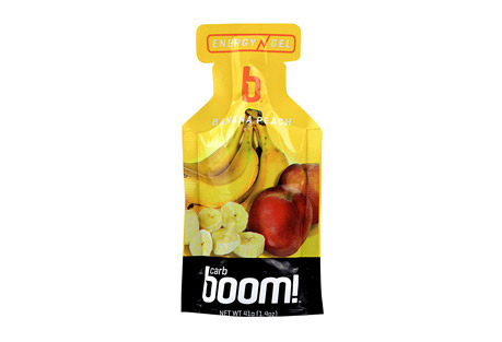 Boom! Carb Boom! Banana-Peach Energy Gel - 24 Pack