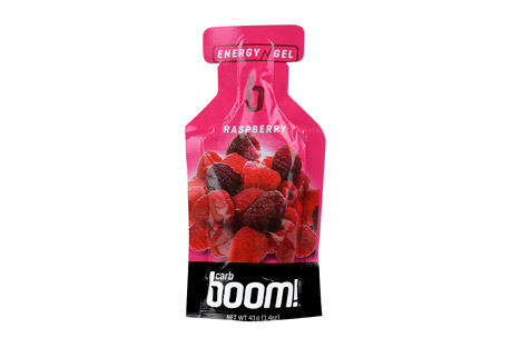 Boom! Carb Boom! Raspberry Energy Gel - 24 Pack